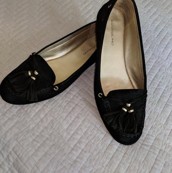 7bfa09da4f95 Bandolino Shoes - Suede tassel flats